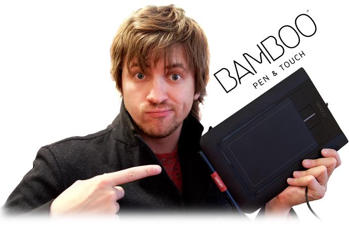 Обзор новой линейки планшетов  Wacom Bamboo Multi-Touch